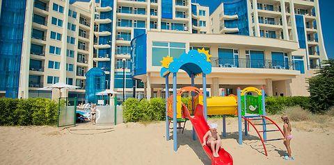 obiekt, budynek główny, dla dzieci, plac zabaw