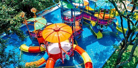 aquapark, zjeżdżalnia, dla dzieci