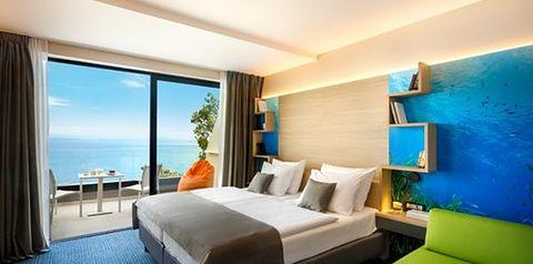 apartament, apartament z widokiem na morze