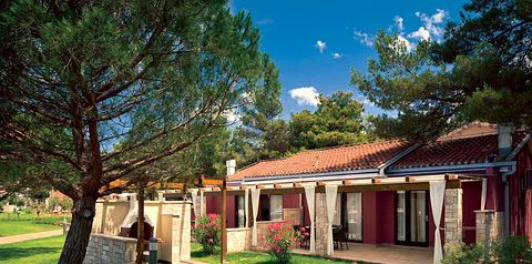 bungalowy, balkon / taras