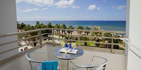 balkon / taras, pokój z widokiem na morze
