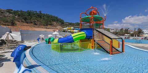 basen, aquapark, zjeżdżalnia, dla dzieci