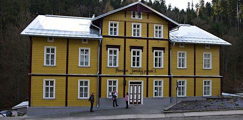 obiekt, teren hotelu, zwiedzanie