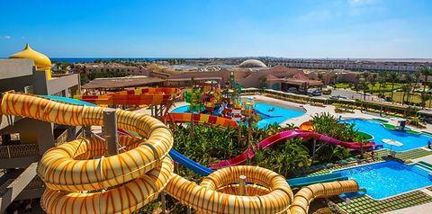 teren hotelu, aquapark