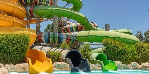 aquapark, zjeżdżalnia, wakacjepl