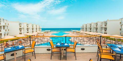 teren hotelu, balkon / taras, basen