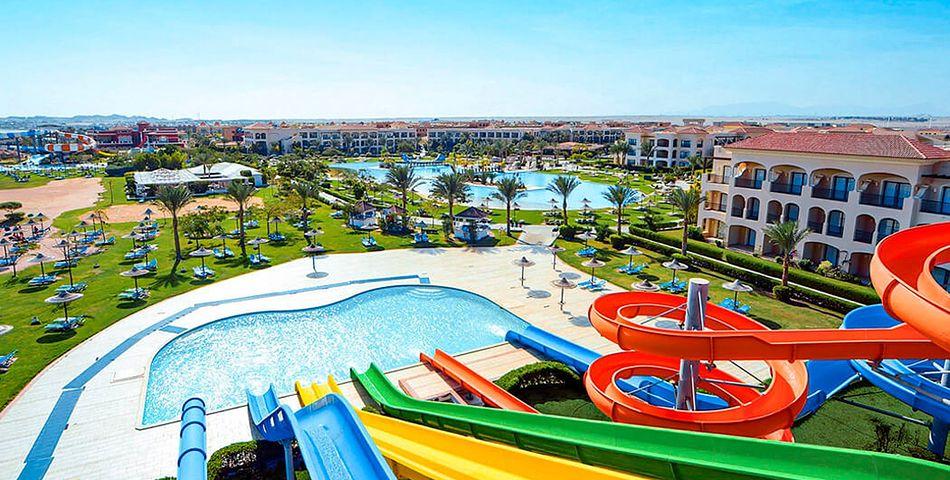 basen, zjeżdżalnia, słońce, lato