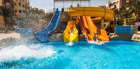 aquapark, zjeżdżalnia