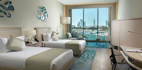 pokój, pokój z widokiem na morze
