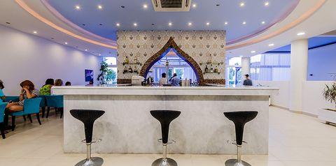 teren hotelu, lobby bar