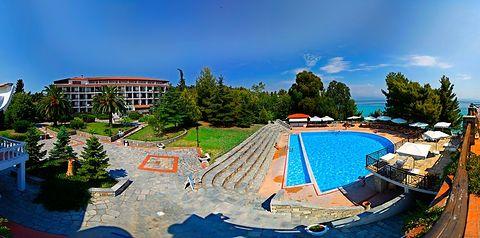teren hotelu, basen
