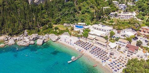 teren hotelu, plaża, wakacjepl