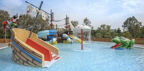 basen, aquapark, zjeżdżalnia, brodzik, dla dzieci