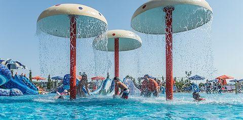 Park wodny w hotelu Caretta Beach