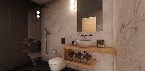 pokój, łazienka