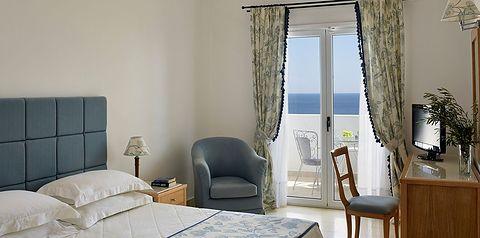 pokój, pokój z widokiem na morze, DVL, DBL, BVN, SGL