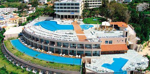 obiekt, budynek główny, teren hotelu, basen