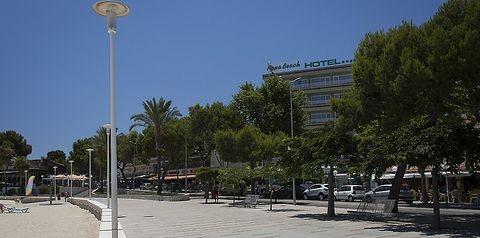 budynek główny, teren hotelu
