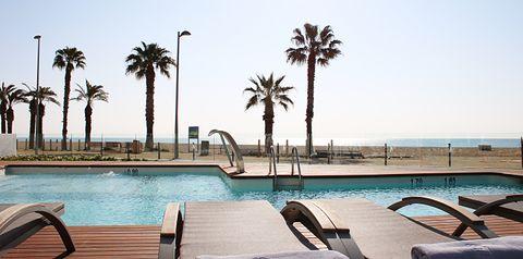 basen, plaża