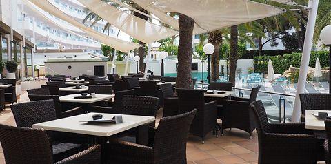 basen, restauracja, kawiarnia