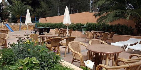 teren hotelu, restauracja