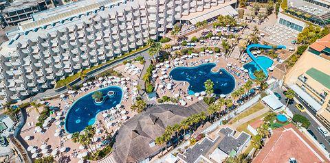 obiekt, teren hotelu, basen, video, wakacjepl