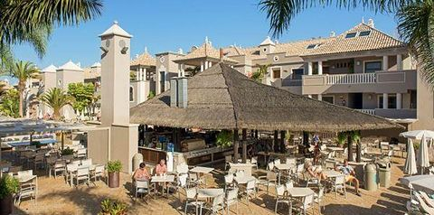 teren hotelu, pool bar