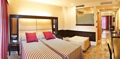teren hotelu, pokój