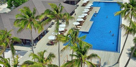 teren hotelu, basen, restauracja