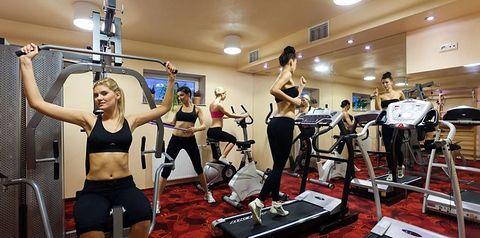 sport i rekreacja, siłownia, rozrywka