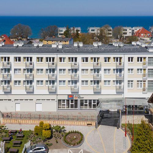 Wczasy zorganizowane Ustronie Morskie Alka Sun Resort