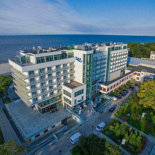 Wczasy zorganizowane Kołobrzeg Bałtyk Sanatorium Uzdrowiskowe