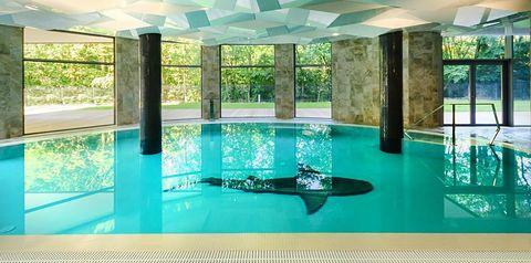 teren hotelu, basen, sport i rekreacja, rozrywka