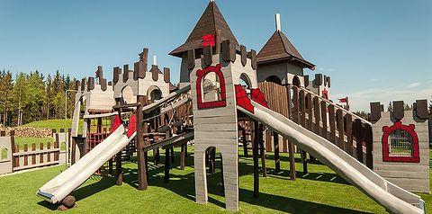 teren hotelu, dla dzieci, plac zabaw
