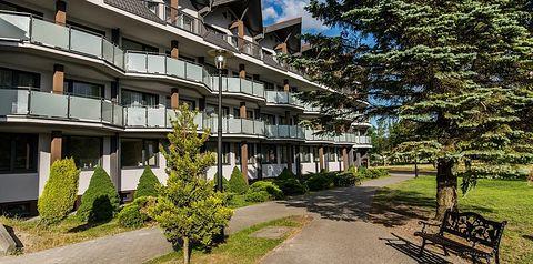 obiekt, budynek główny, balkon / taras