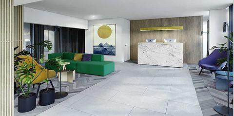 obiekt, budynek główny, recepcja / lobby, teren hotelu