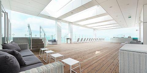 teren hotelu, balkon / taras