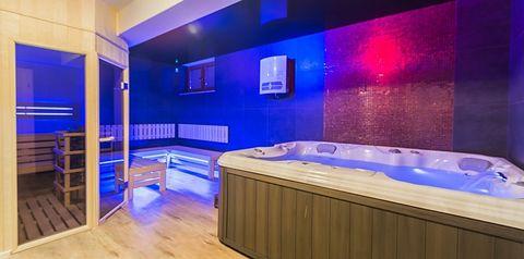 teren hotelu, SPA, sauna
