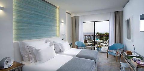 pokój, apartament, balkon / taras, pokój z widokiem na morze