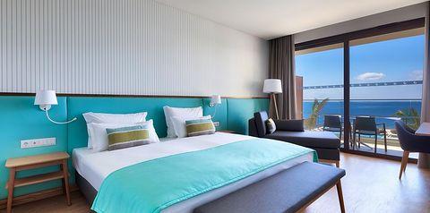 pokój, pokój z widokiem na ocean