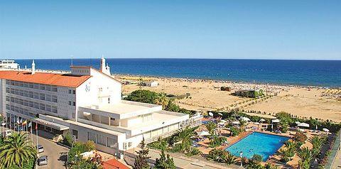 obiekt, budynek główny, plaża