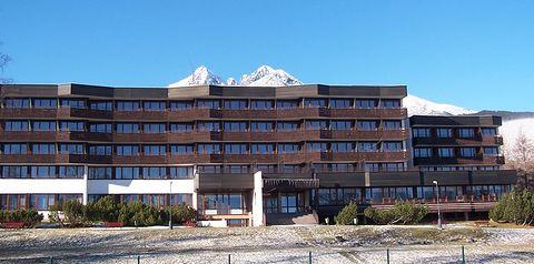 obiekt, teren hotelu