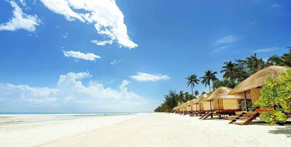 bungalowy, plaża