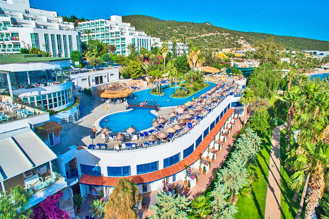 Bodrum Holiday Resort Opinie O Hotelu W Turcji Wybrzeze Egejskie Wakacje Pl