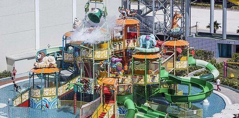 aquapark, plac zabaw
