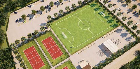 teren hotelu, sport i rekreacja, korty tenisowe