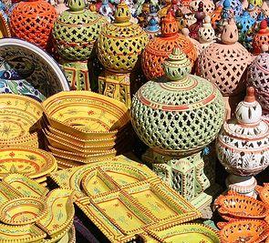 Tunezja - wielobarwna  mozaika