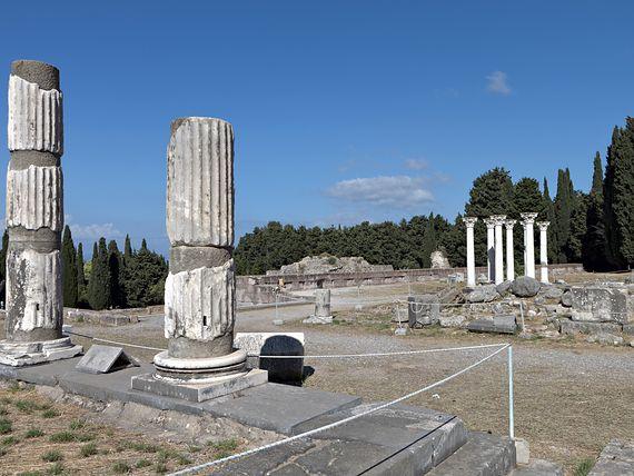 Asklepiejon - świątynia Asklepiosa