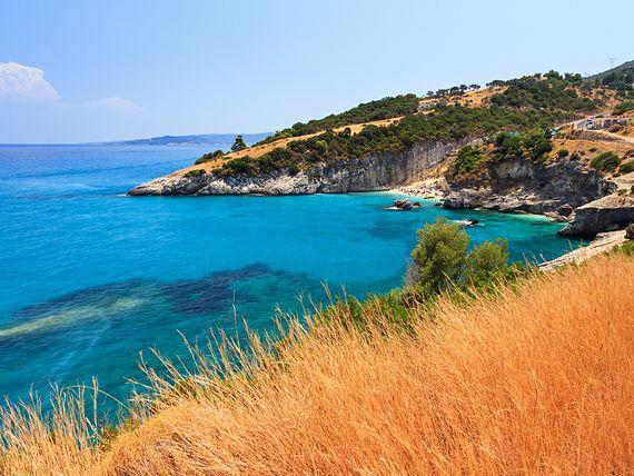 Plaża Xigia i gorące źródła